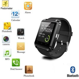 SmartWatch ® U8 Touchscreen 1.48in TFT LCD Bluetooth v3 + Activity Tracker + Music Controller + Remote Camera button Smart Watch