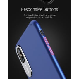 Rock ® Apple iPhone X Classy Series Ultra-thin Metallic Touch with Anodized Aluminium Camera Finish Back Cover