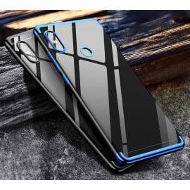 Vaku ® Xiaomi Redmi Note 5 Pro CAUSEWAY Series Electroplated Shine Bumper Finish Full-View Display + Ultra-thin Transparent Back Cover