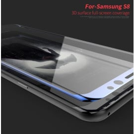 Dr. Vaku ® Samsung Galaxy S8 Plus Ultra-thin 0.2 mm 2.5D + 3D Curved Edge Tempered Glass Screen Protector