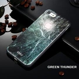 LEKE ® Apple iPhone SE 2020 World's First LED Light Illuminated Logo 3D Designer Case Back Cover