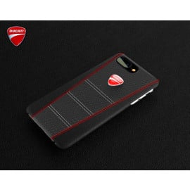 Ducati ® Apple iPhone 8 Plus SCRAMBLER Series Genuine Leather Back Cover