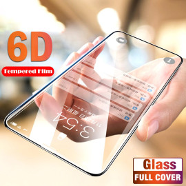 Dr. Vaku ® Xiaomi Redmi Y3 5D Curved Edge Ultra-Strong Ultra-Clear Full Screen Tempered Glass-Black