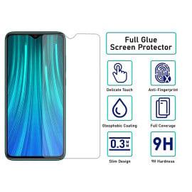 Dr. Vaku ® Xiaomi Redmi Note 8 Pro 2.5D Ultra-Strong Ultra-Clear Full Screen Tempered Glass-Transparent