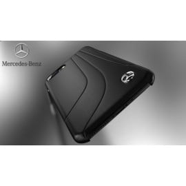 Mercedes Benz ® Apple iPhone 7 Plus Redressa Series Premium Leather Drop Line Technology Case Back Cover