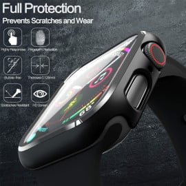 Dr. Vaku ® Apple Watch Series 4 40mm 360° Bumper Cover with Tempered Glass