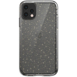 Luxos ® Apple iPhone 11 Pro Max Star Struck Series Transparent Protective Hard Back Cover
