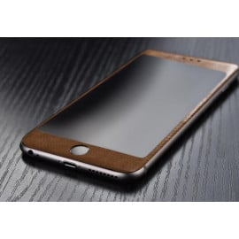 Dr. Vaku ® Apple iPhone 6 / 6S Soft Leather Edge Tempered Glass
