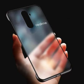 VAKU ® Oppo Realme X2 Pro Frameless Semi Transparent Cover