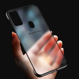 VAKU ® Samsung Galaxy M30S Frameless Semi Transparent Cover