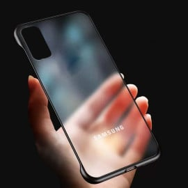 VAKU ® Samsung Galaxy S20 Frameless Semi Transparent Cover (Ring not Included)