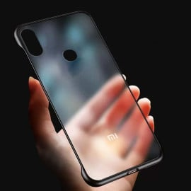 VAKU ® Xiaomi Redmi Note 6 Pro Frameless Semi Transparent Cover (Ring not Included)
