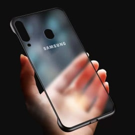 VAKU ® Samsung Galaxy M30 Frameless Semi Transparent Cover