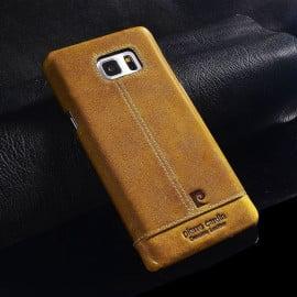 Pierre Cardin ® Samsung Galaxy Note 4 Paris Design Premium Leather Case Back Cover