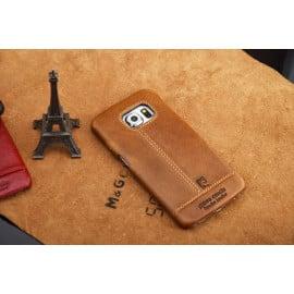 Pierre Cardin ® Samsung Galaxy S6 / S6 Edge / S6 Edge Plus Paris Design Premium Leather Case Back Cover