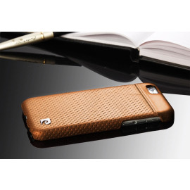 Pierre Cardin ® Apple iPhone 6/6S PERFORATED Series Premium Leather Case Back Cover