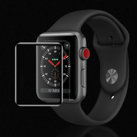 Dr. Vaku ® For Apple Watch Series 1/2/3 42mm 5D Anti-Scratch High-Definition Tempered Glass