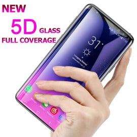 Dr. Vaku ® Samsung Galaxy A9 Pro 5D Curved Edge Ultra-Strong Ultra-Clear Full Screen Tempered Glass