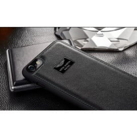 Aston Martin Racing ® Apple iPhone 8 Official Hand-Stitched Leather Case Limited Edition Back Cover