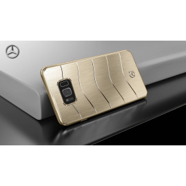 Mercedes Benz ® Samsung Galaxy S8 GLE 450 AMG Series Electroplated Metal Hard Case Back Cover