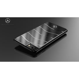 Mercedes Benz ® Apple iPhone 8 GLE 450 AMG Series Electroplated Metal Hard Case Back Cover