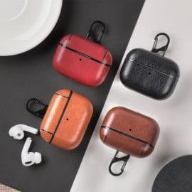 Vaku ® Apple AirPod Pro Vintage leather  Hook Case