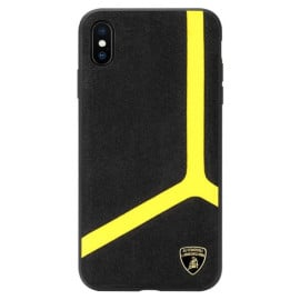Lamborghini ® Apple iPhone XS Max Alcantra Aventador D11 Limited Edition Case Back Cover