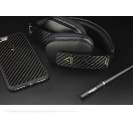 Lamborghini ® Aventador VW01 Over The Ear Carbon Fiber Headphones Wireless Bluetooth 4.0 Headset