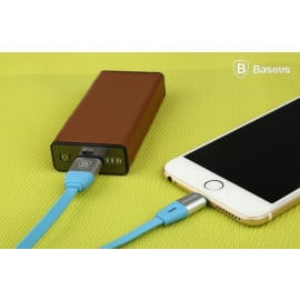 Baseus ® Inbuilt LED Indicator Auto-Disconnect Android/Windows Micro USB Charging / Data Cable