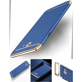 Vaku ® Samsung Galaxy C9 Pro Ling Series Ultra-thin Metal Electroplating Splicing PC Back Cover