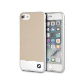 BMW ® Apple iPhone 7 Official Luxurious Leather + Metal Case Limited Edition Back Cover