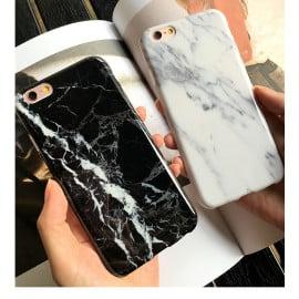 Vaku ® Apple iPhone 6 / 6S Marble Stone Finish Soft Polished TPU Grip Case Back Cover