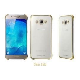 Vaku ® Samsung Galaxy J5 (2016) High Quality Fashion Looking Metal Electroplating Protective PC Back Cover