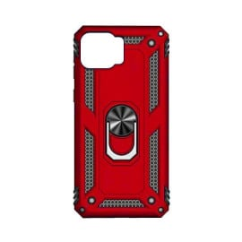 Vaku ® Oppo F17 Pro Armor Ring Shock Proof Cover with Inbuilt Kickstand