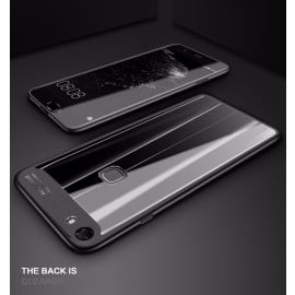 Vaku ® OPPO F5 Youth Kowloon Series Top Quality Soft Silicone  4 Frames plus ultra-thin case transparent cover