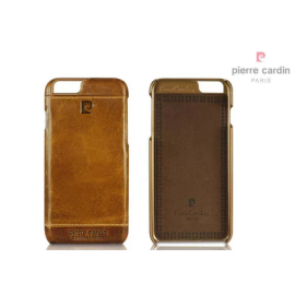 Pierre Cardin ® Apple iPhone 6 / 6S Paris Design Premium Leather Case Back Cover