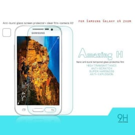 Dr. Vaku ® Samsung Galaxy S4 Zoom Ultra-thin 0.2mm 2.5D Curved Edge Tempered Glass Screen Protector Transparent