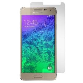 Dr. Vaku ® Samsung Galaxy Alpha Ultra-thin 0.2mm 2.5D Curved Edge Tempered Glass Screen Protector Transparent