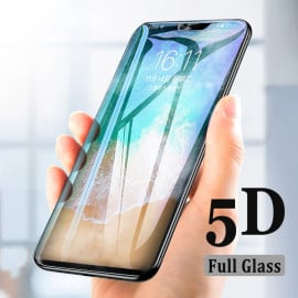 Dr. Vaku ® Oppo RealMe 2 Pro 5D Curved Edge Ultra-Strong Ultra-Clear Full Screen Tempered Glass