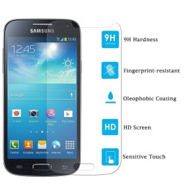 Dr. Vaku ® Samsung Galaxy S4 Mini Ultra-thin 0.2mm 2.5D Curved Edge Tempered Glass Screen Protector Transparent