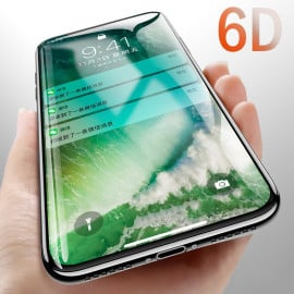 Dr. Vaku ® Samsung Galaxy A6S 6D Curved Edge Ultra-Strong Ultra-Clear Full Screen Tempered Glass