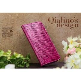 Qialino ® Apple iPhone 6 / 6S Crocodile Skin Premium Leather + Card Storage Magnetic Flip Cover