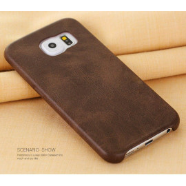 Usams ® Samsung Galaxy S6 Edge Plus Ultra-thin Elegant Grained Leather Case Back Cover