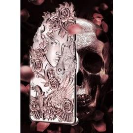 Love Crazy ® Apple iPhone 6 Plus / 6S Plus Dark Angel Star Ghost Series Metallic 3D Plating Back Cover