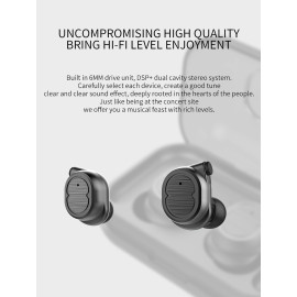 VAKU ® TWS-8 True Wireless HD-STEREO Earphones with Bluetooth 5.0 +EDR
