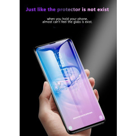 Dr. Vaku ® Samsung Galaxy S10e 5D Curved Edge Ultra-Strong Ultra-Clear Full Screen Tempered Glass-Black