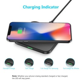 Choetech ® T511–S Qi Certified 10 Watt Triple Charging Mode Wireless Charging Pad