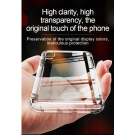 Baseus ® Apple iPhone XS MAX Air Bag Case Anti-Drop 4-Corner 360° Protection Full Transparent TPU Back Cover