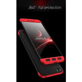 FCK ® Xiaomi Redmi 5A 5-in-1 360 Series PC Case Dual-Colour Finish Ultra-thin Slim Front Case + Tempered + Back Cover