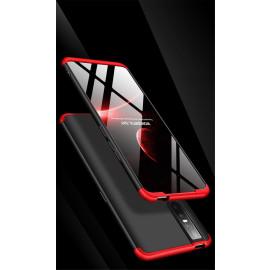 GKK ® Vivo V15 Pro 3-in-1 360 Series PC Case Dual-Color Finish Ultra-thin Slim Front Case + Back Cover